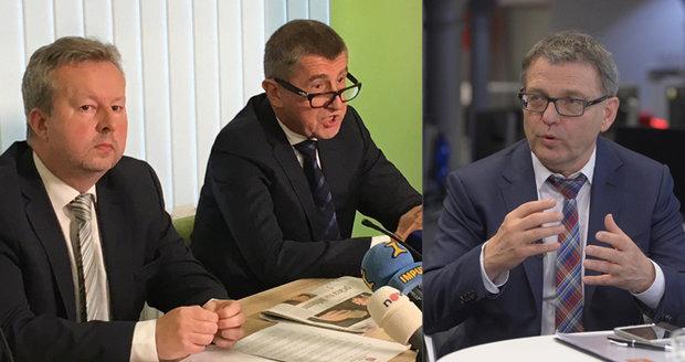 """Spor o český poklad graduje: """"Megatunel ČSSD,"""" útočí Babiš. Ubohost, míní Zaorálek"""