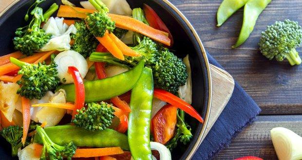K dietě můžete jíst i tepelně upravenou zeleninu.