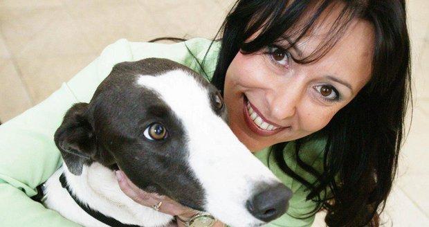 Heidi Janků miluje psy.