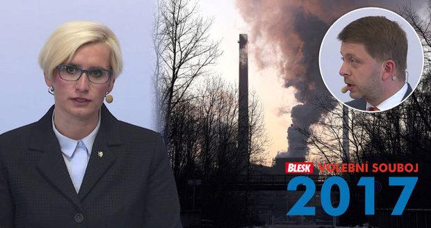 Poláci nám kazí vzduch, stěžovali si politici v debatě. A kašlou na nás, dodává Šlechtová