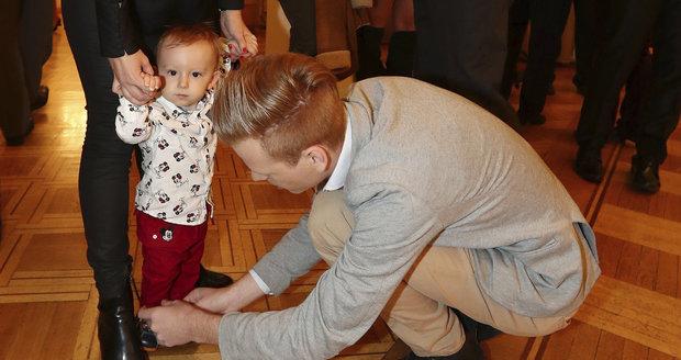 Pavel Dytrt vítá svého bráchu Maxmiliána.