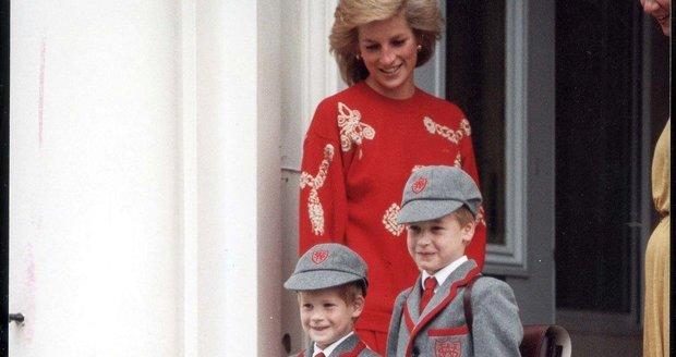 Princezna Diana porušila zákaz veřejných škol: Princ William se stal prvním následníkem trůnu, který navštěvoval veřejnou školu. Diana tím porušila tradici soukromých škol.