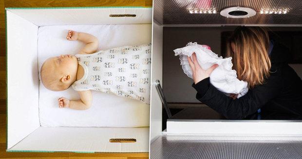 Kdosi odložil malou holčičku do babyboxu radnice Prahy 2. (Ilustrační foto)