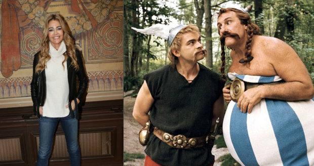 Obelix Depardieu má bydlet jako král Zikmund