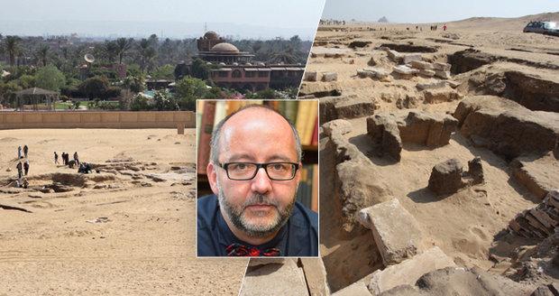 Úspěch českých egyptologů: Vykopali 3300 let starý chrám
