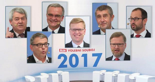 """Kalouskovo """"znásilnění"""", Fialovo """"dno"""" a Babiš proti všem: Sliby lídrů voličům"""