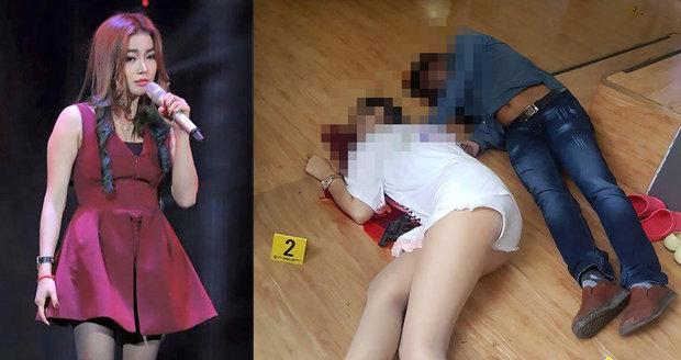 Brutální vražda hvězdy Hlasu: Manžel zpěvačku zastřelil, pak zabil i sebe