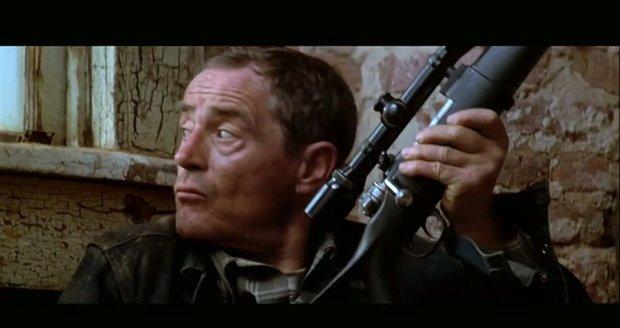 1996 - Jan Tříska ve filmu Lid versus Larry Flynt