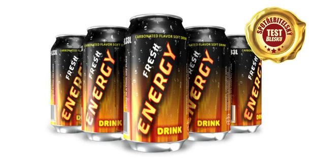 Testy energy drinků!