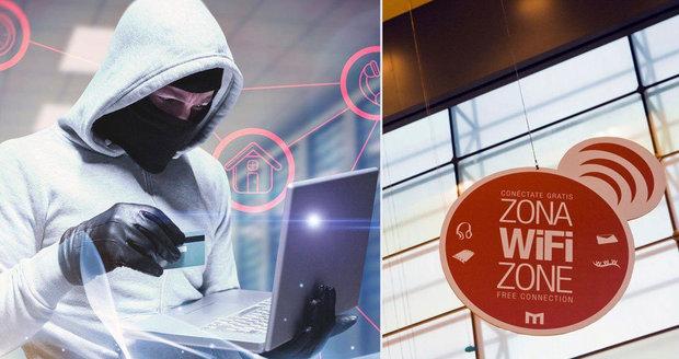 Hackeři nikdy nespí: Využívají veřejné Wi-Fi sítě. Ilustrační foto