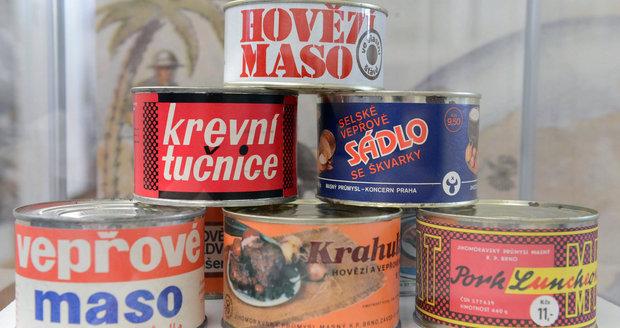 Vzpomínáte? Takto vypadaly potraviny za komunistů. Některé milujeme dodnes