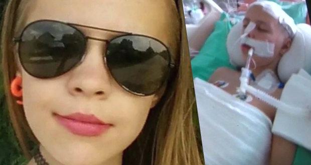Zuzka (13) bojuje o život: Babička kvůli nehodě nenávidí rodiče dívky