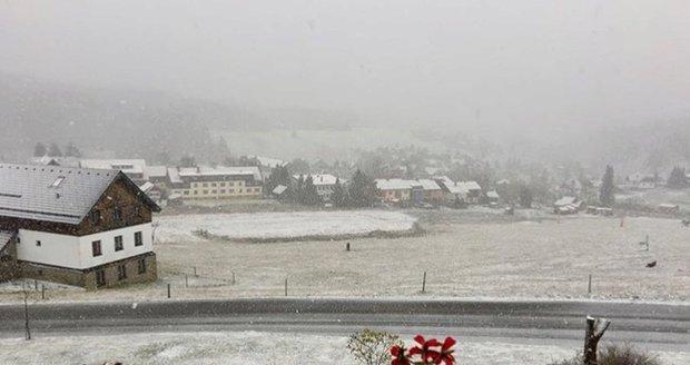 V noci na pondělí mrzlo nejvíc na horách, teploty klesly pod minus 20 stupňů