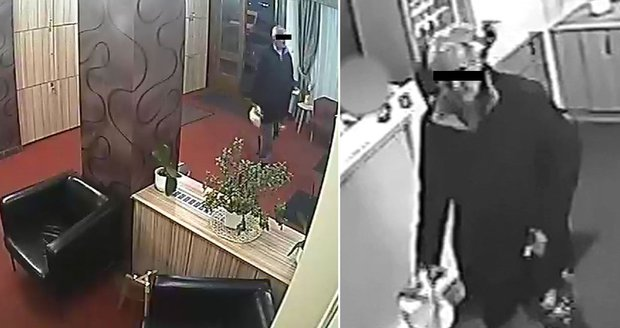 Hotelovou recepci chtěl muž vyloupit kvůli tíživé finanční situaci.