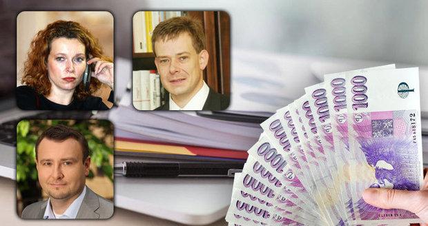 """Exministři radí za miliony. Drobil, Němec i Buzková opět """"makají"""" pro stát"""