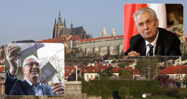 """Zemanovi i Drahošovi se postaví v boji o Hrad záhadný """"pan X"""": Kdo je devátý vyzyvatel?"""