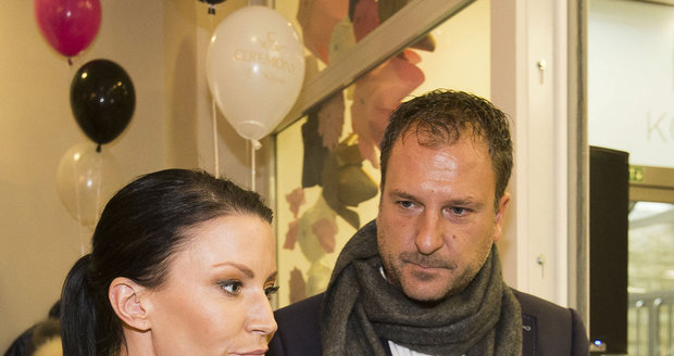 Gábina Partyšová s Danielem Farnbauerem