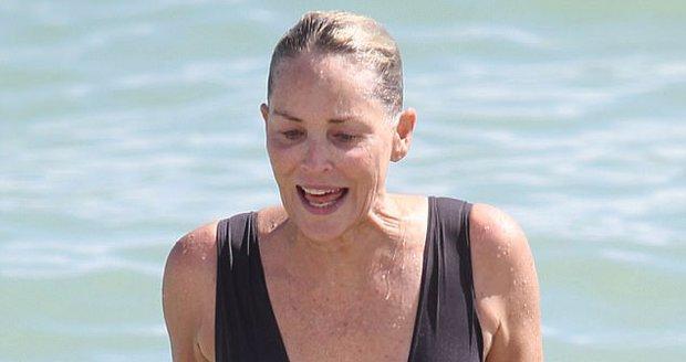Sharon Stone vypadá pořád úžasně.