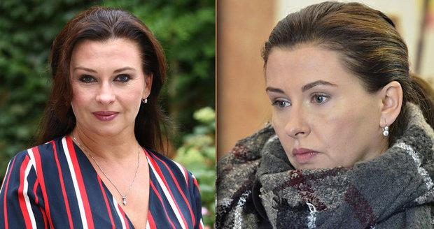 Dana Morávková (46) s minimem make-upu  Herečka ukázala dokonale ... 0148889afdc
