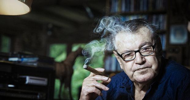 Zemřel režisér Miloš Forman.