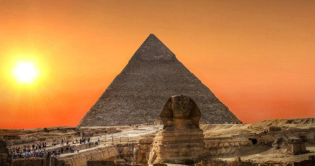 Gízská nekropole v Egyptě