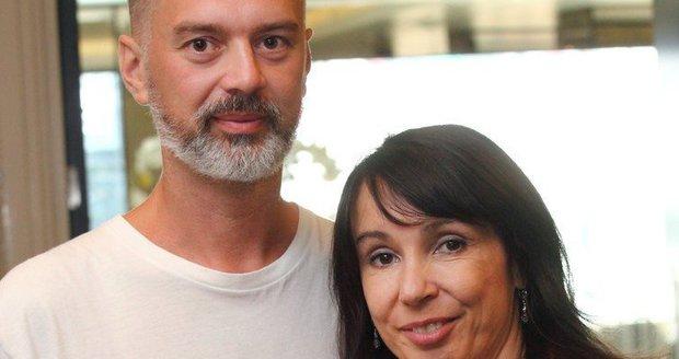 Nela Boudová se svým manželem Alexandrem.