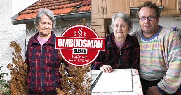 Matka a syn tvrdí, že jejich túje zničil soused.