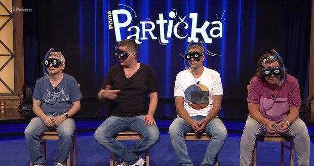 Prima Partička: Michal Suchánek, Michal Novotný, Igor Chmela a Richard Genzer