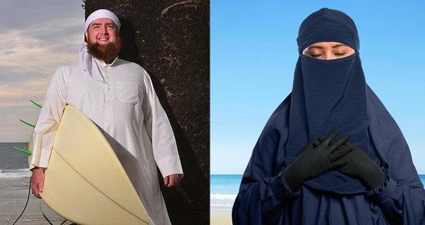 Ženy musí chodit zahalené, jinak se muslimové neovládnou, řekl šejk. Pak dostal padáka