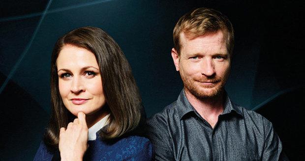 Tereza Hofová a Matěj Hádek v seriálu Dáma a Král