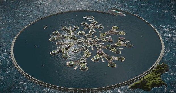 Města budoucnosti by měla vznikat na moři a neměla by podléhat žádnému státu.