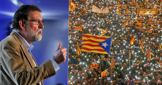 """""""Lidem lhali, Katalánsko podvedli."""" Španělský premiér káral vězněné exministry"""