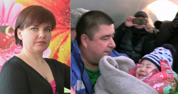 První foto! Holčička (3) jako jediná přežila pád českého letadla v Rusku: Život jí zachránila učitelka (†45)