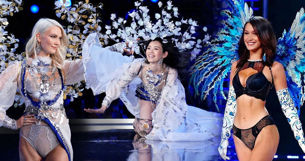 3024da6da Problémy na velkolepé přehlídce Victoria  39 s Secret  Pád andílka přímo na  mole