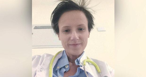 Lékařka Katka (†28) se upracovala k smrti: Během 24hodinové směny zemřela na infarkt