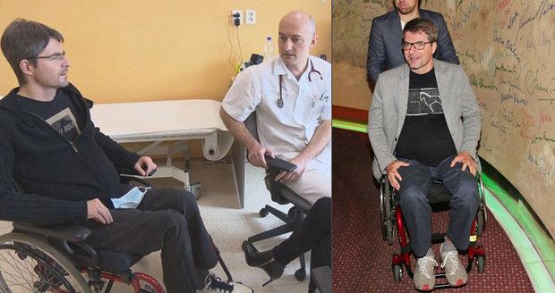 Ochrnutý Michal Jančařík si od lékařů nevyslechl dobré zprávy: