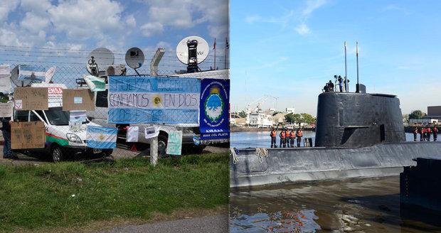 Námořnictvo vzalo rodinám naději: Zvuk v moři nepocházel ze ztracené ponorky, pátrání pokračuje