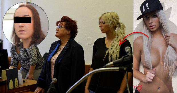 Modelka a finalistka Miss Erotika jde do vězení: Dívce (17) rozbila o obličej sklenici, dostala 5,5 roku!