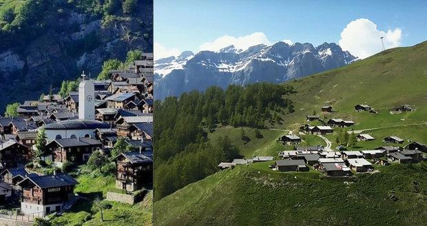 Švýcarská obec Albinen chce nalákat nové rezidenty.