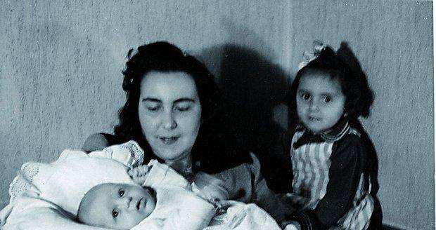 Hana Zagorová, když byla ještě miminko.