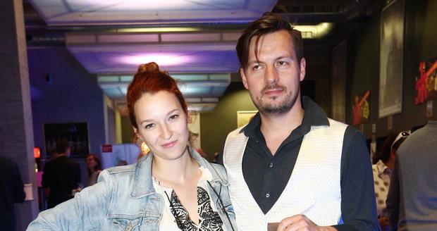 Berenika Kohoutová a její manžel Pavel Čechák