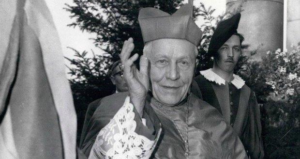 Česko chce zpátky ostatky kardinála Berana. Je pohřben na nejposvátnějším místě ve Vatikánu