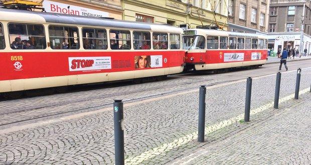Mezi Strossmayerovým náměstím a Hradčanskou nepojedou tramvaje.