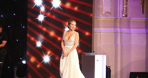 Lucka Vondráčková se umístila na 3. místě
