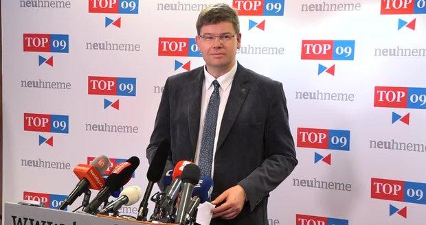 """Pospíšil přebral po Kalouskovi Topku. """"Bojujme proti šmejdům v politice,"""" znělo sněmem"""