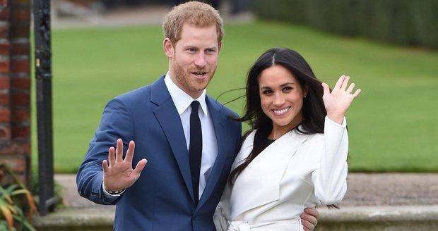 Zásnuby Meghan a Harryho údajně proběhly o dva měsíce dřív, než oba tvrdí.