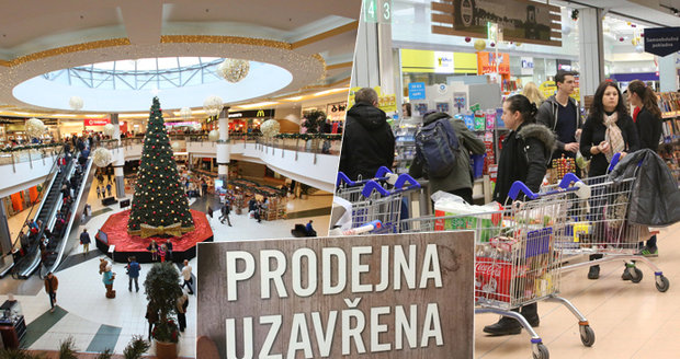 Zavírání obchodů na svátky se osvědčilo, tvrdí odbory. Chtějí zákaz rozšířit o další dny