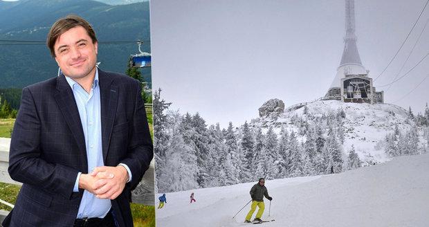 Ještěd ovládl miliardář Rattaj. Liberec mu pronajal skiareál na deset let