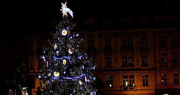 Takto vypadá nový vánoční stromek na Staroměstském náměstí pro rok 2017.