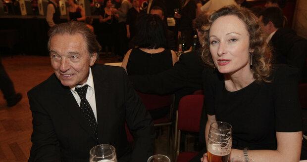 Karel Gott a Alice Kovácsová